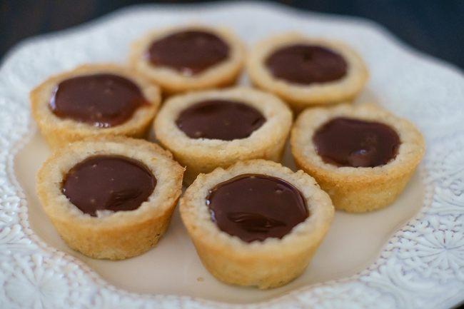 mini chocolate caramel tart 2