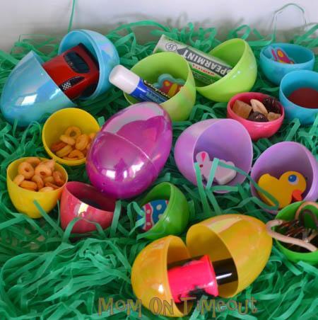 non candy eggs easter basket