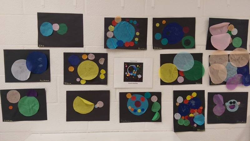several circles by wassily kandinsky preschool edition