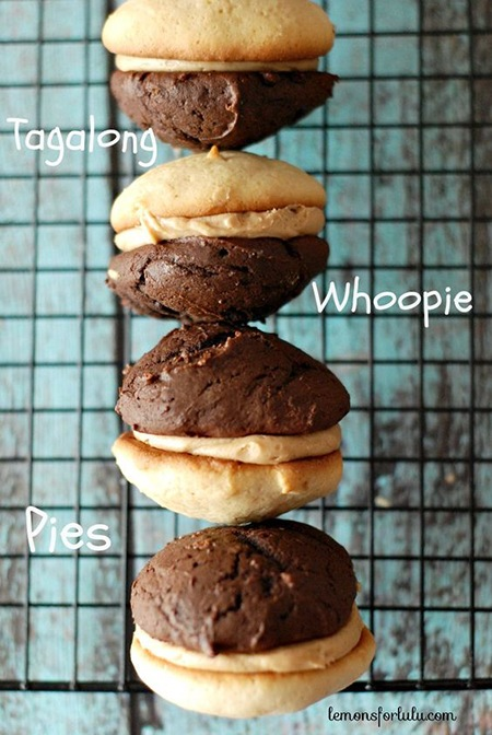 tagalong Whoopie Pies girl scout cookie recipes