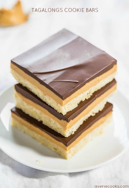 girl scout cookie recipe tagalong bars