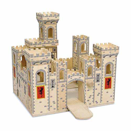 Melissa and Doug Medieval Castle Review - Great for Boys!