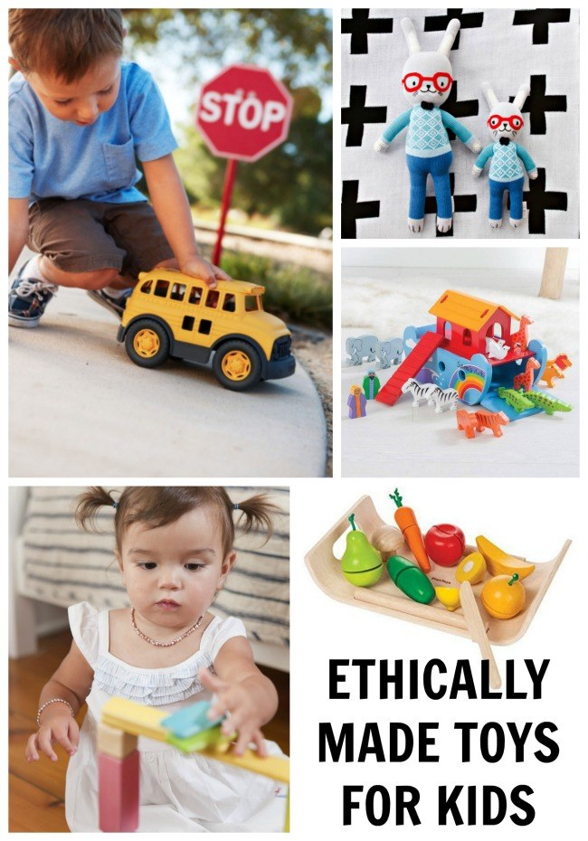 ETHICALLY MADE FAIR TRADE TOYS FOR KIDS