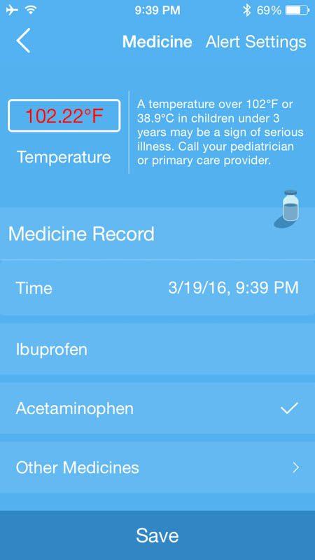 FeverFrida medicine set