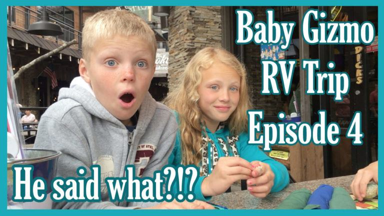 Baby Gizmo RV Travel Episode 4 | What did he say??