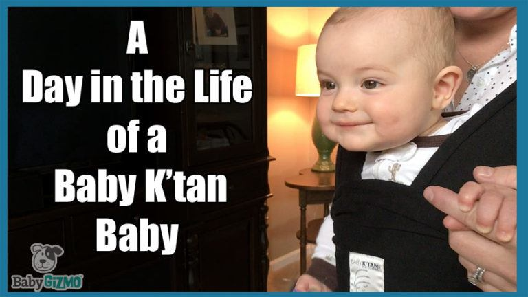 Babywearing: A Day in the Life of a Baby K'tan Baby
