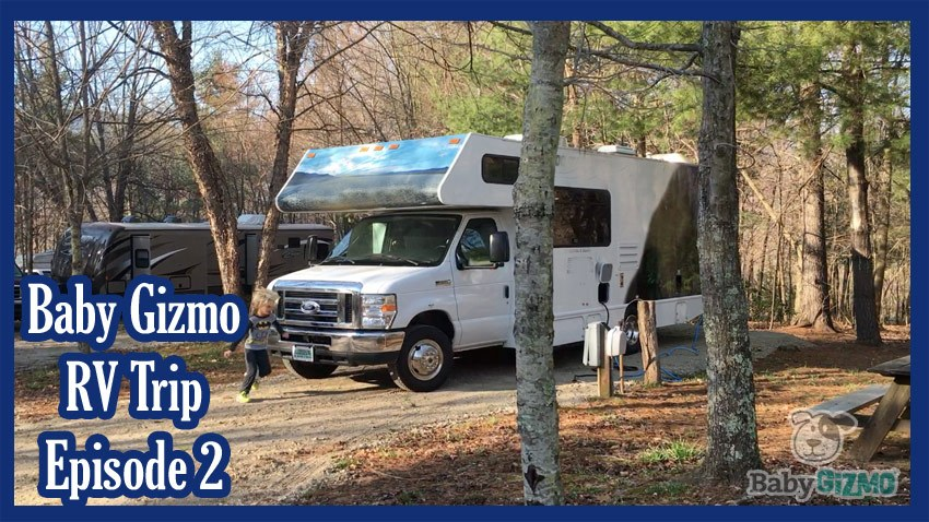 Baby Gizmo RV Travel Episode 2 | On the Road