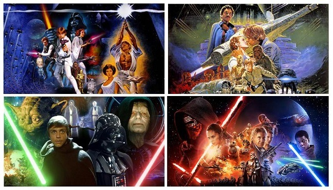 Fox Disney StarWars Episode IV V VI VII, The Force Awakens movie, preschool movie recommendations