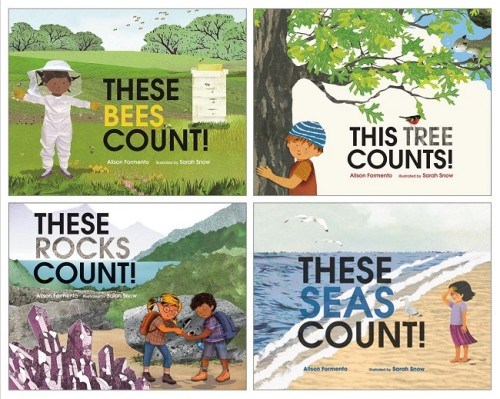 these things count! these bees count! these rocks count! these seas count! this tree counts! alison formento