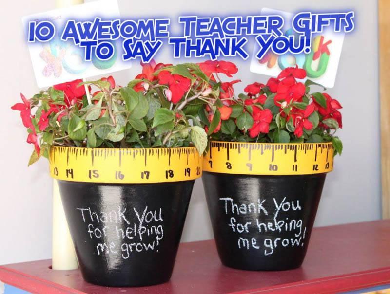 10 teacher gifts featured