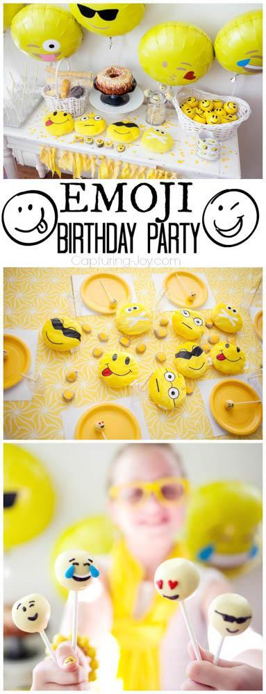 Emoji-Birthday Party