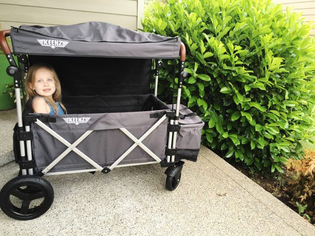 Keenz Stroller Wagon Review