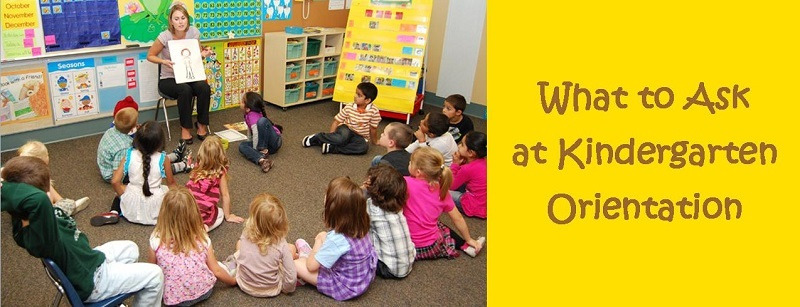 kindergarten what to ask