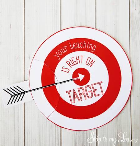 Target gift-card- teacher gift