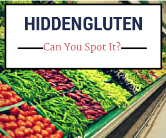 6 Hidden Gluten Food Items