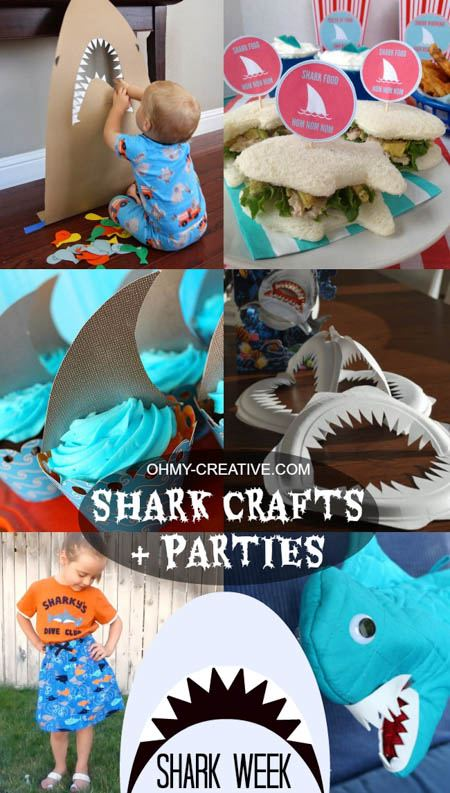 shark week birthday party