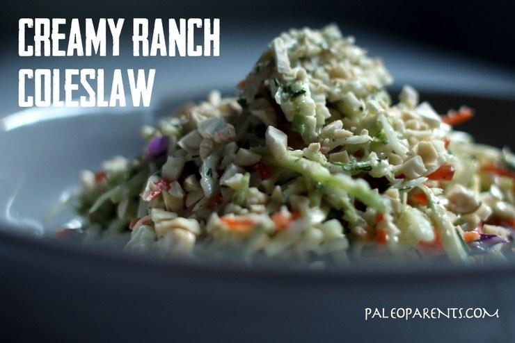 creamy ranch coleslaw