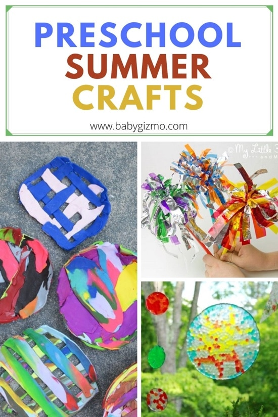 Preschool Crafts for Summer