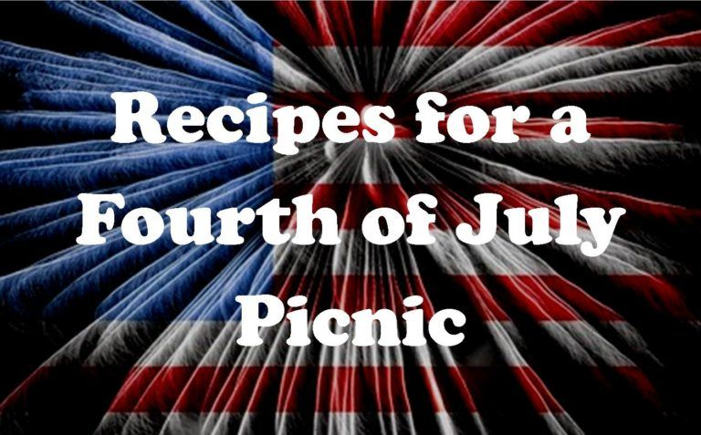 Recipes for a Fourth of July Picnic