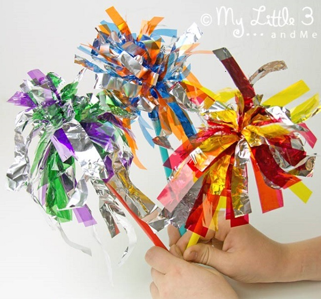 Sparkler Firework craft