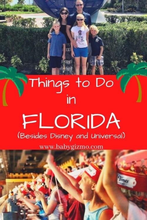 family visiting florida