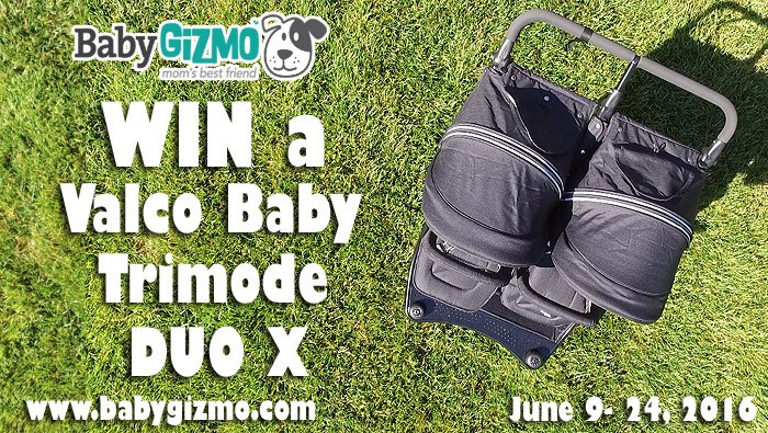 Valco Baby Trimode Duo X Double Stroller Review (Giveaway)