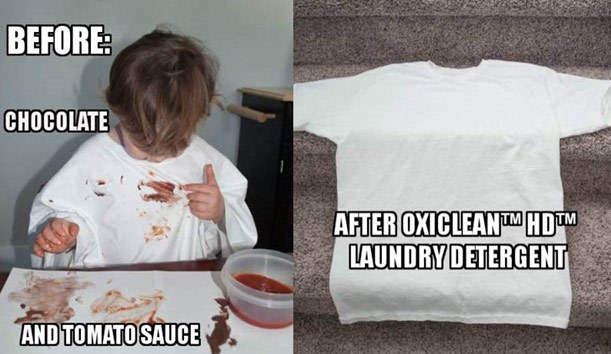 Keeping the Kids Clean with OxiClean™