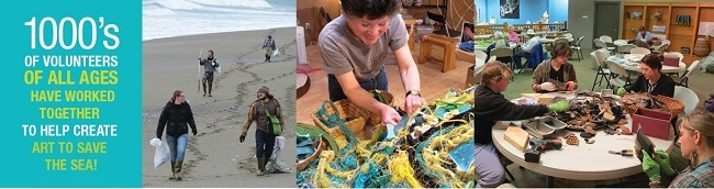 volunteers from washed ashore