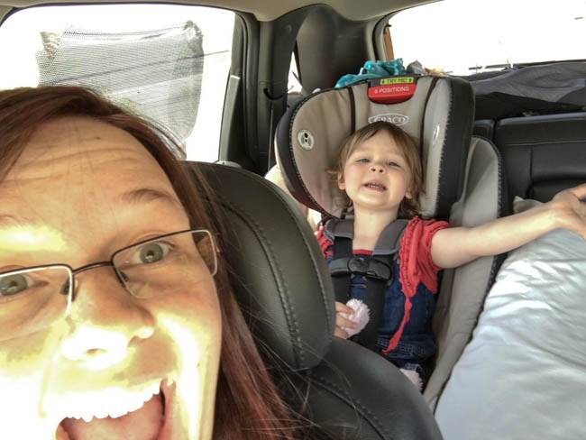 us singing car ride