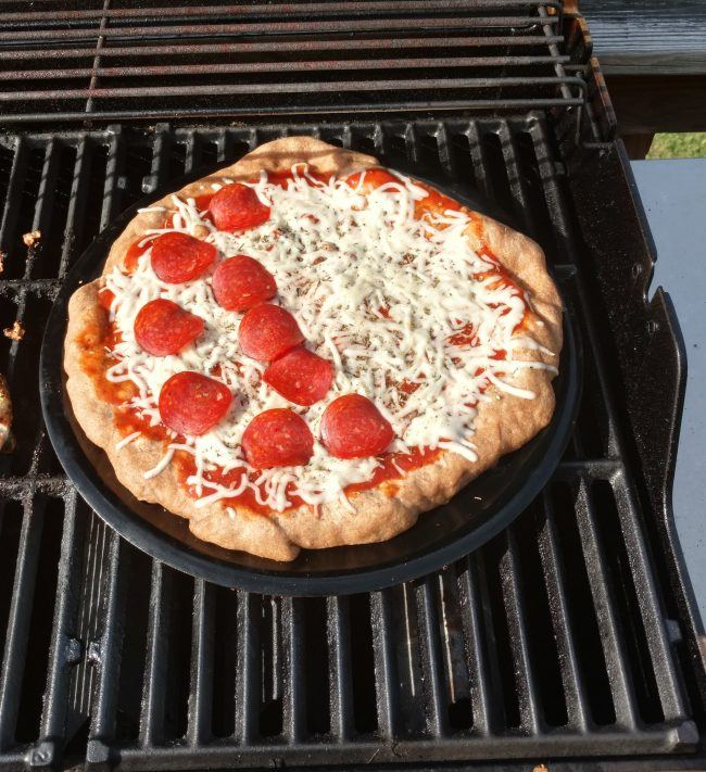 How To Make A Pizza On The Grill