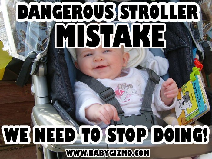 A DANGEROUS Stroller Mistake That We Need To Stop Doing