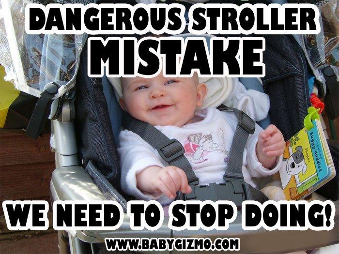 Dangerous Stroller Mistake