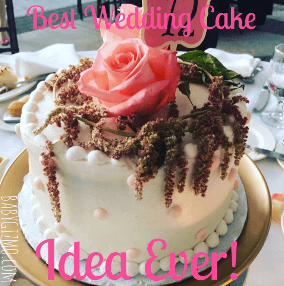 Best Wedding Reception Cake (or Baby Shower) Idea Ever!