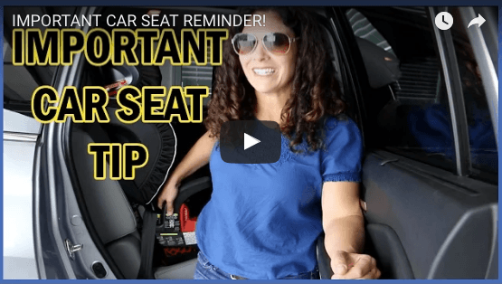 Important Car Seat Reminder!
