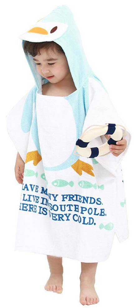 hooded towel swim cover