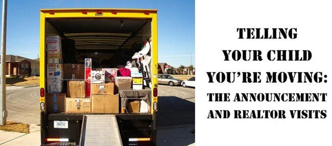 telling your child you're moving