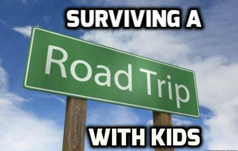 Tips to Survive a Long Car Ride with Kids
