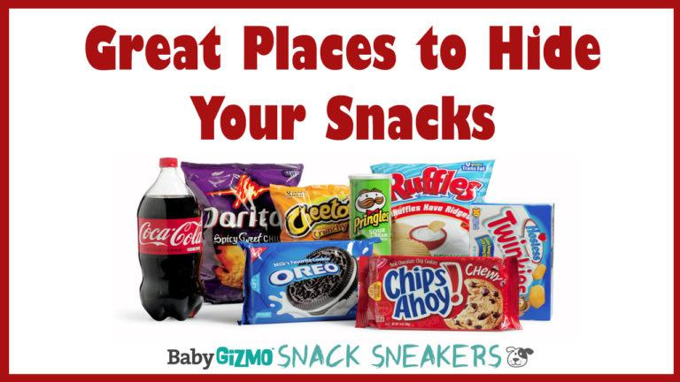 Snack Sneakers Part 2 | Great Places to Hide Snacks