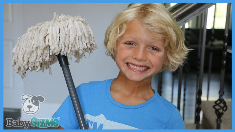 How to Get Your Kids to Happily Clean the House