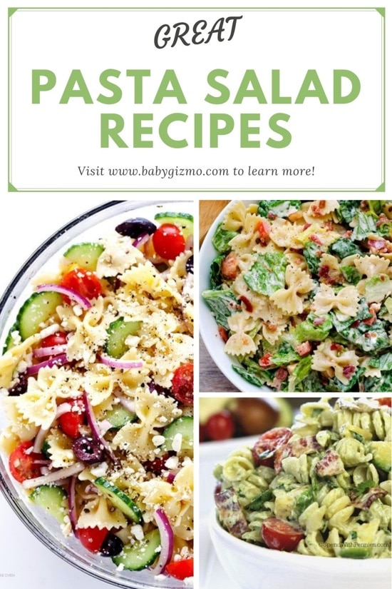 Eight Great Pasta Salad Recipes