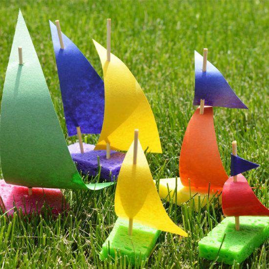 sponge sailboats
