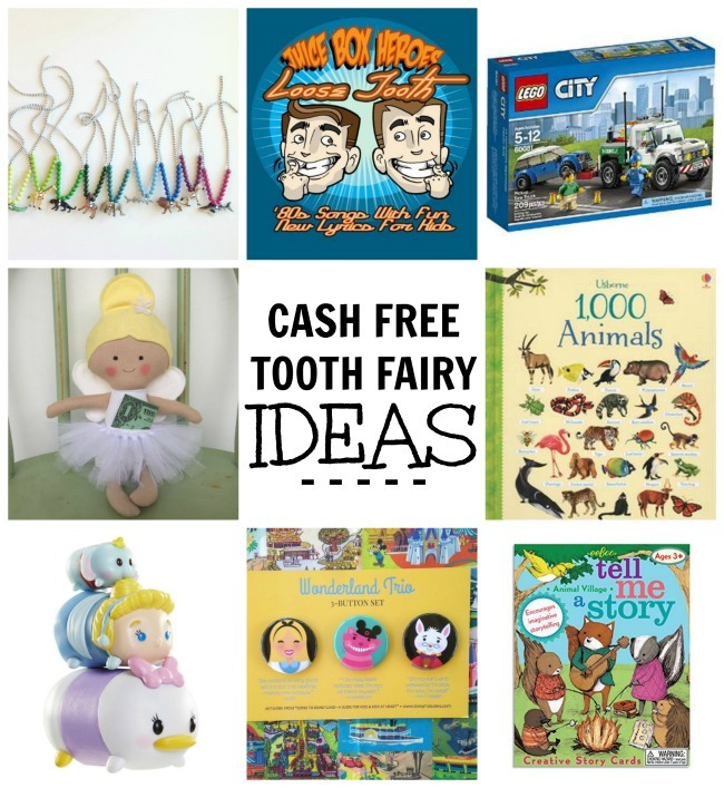 cash free tooth fairy ideas