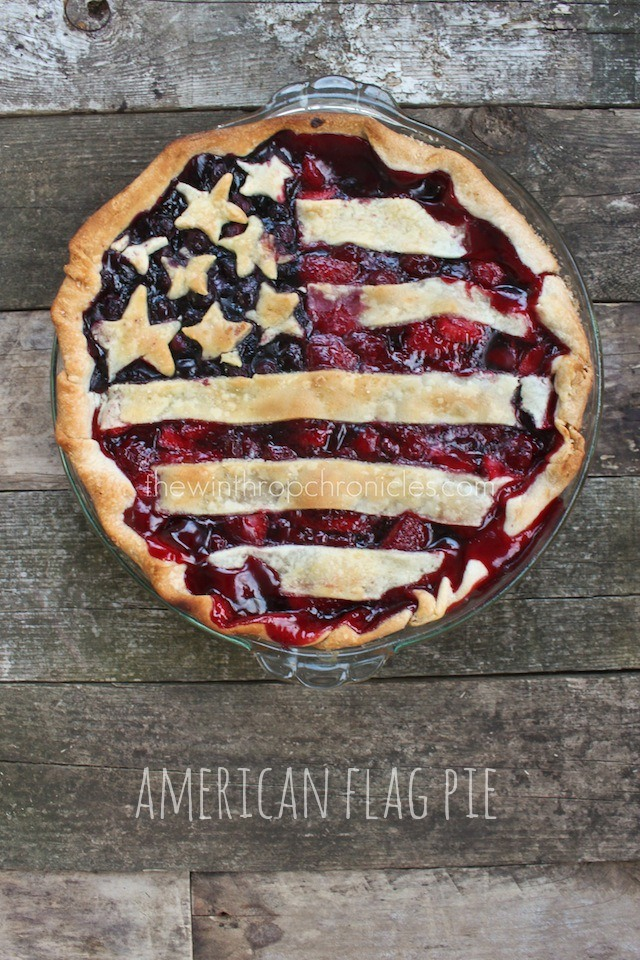 flag pie
