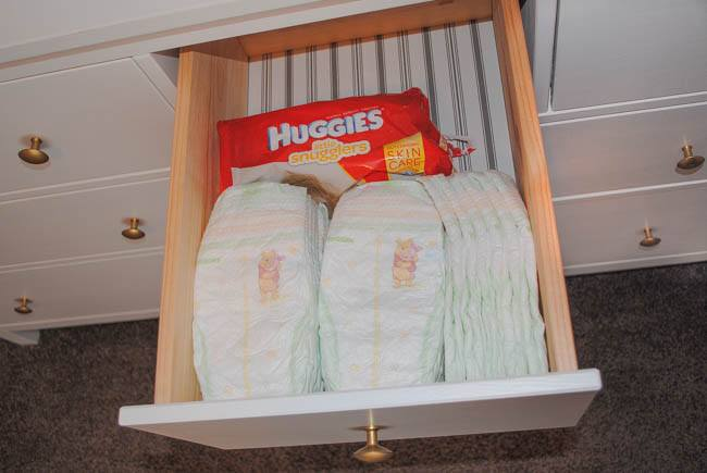 huggies nesting diaper drawer ready