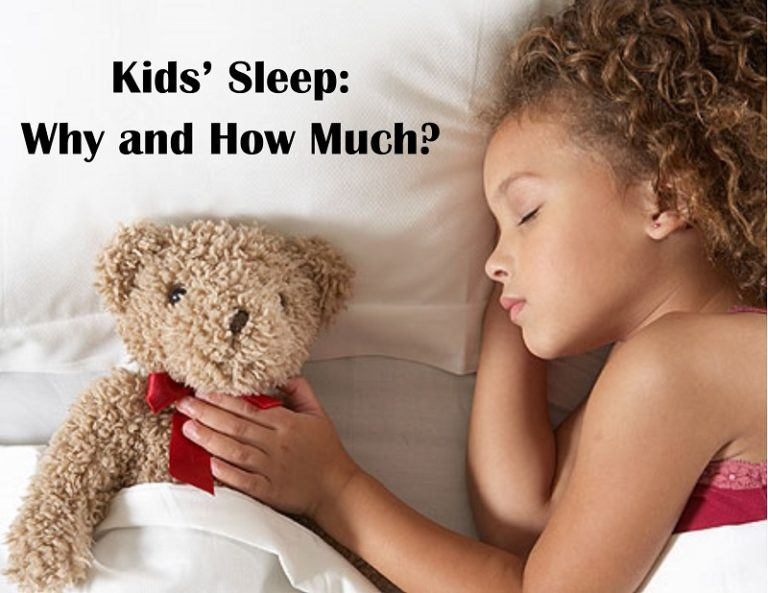 Kids' Sleep: Why and How Much?