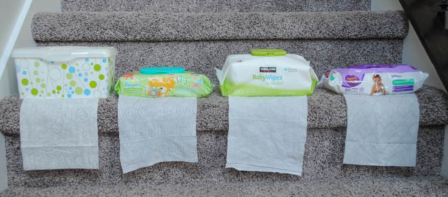 wipe brands I used