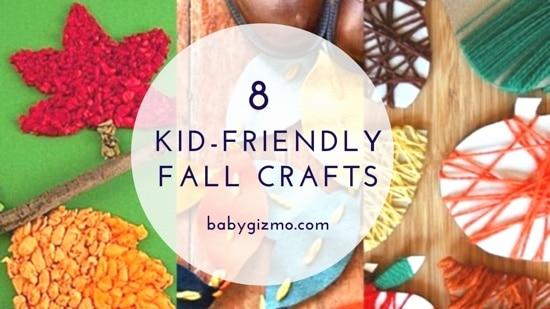 8 Kid-Friendly Fall Crafts
