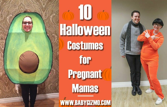 pregnant costumes. Halloween ...  sc 1 st  Baby Gizmo & 10 Costume Ideas for Pregnant Ladies | Baby Gizmo