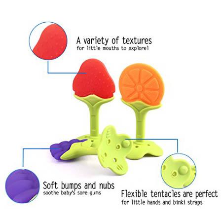 Nurtureland Fruit Teethers