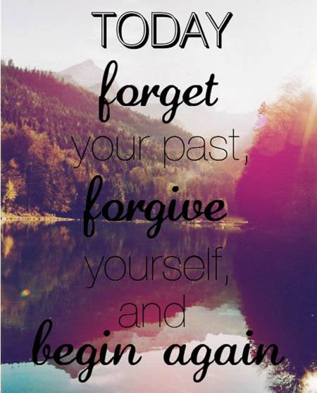 forgive yourself quote